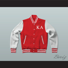 Kappa Alpha Society Fraternity Varsity Letterman Jacket-Style Sweatshirt