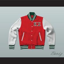Kappa Sigma Fraternity Varsity Letterman Jacket-Style Sweatshirt