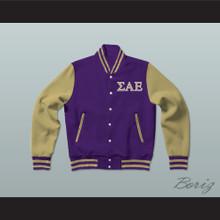 Sigma Alpha Epsilon Fraternity Varsity Letterman Jacket-Style Sweatshirt