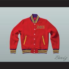 Sigma Phi Epsilon Fraternity Varsity Letterman Jacket-Style Sweatshirt