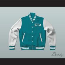 Zeta Tau Alpha Sorority Varsity Letterman Jacket-Style Sweatshirt