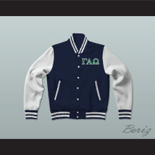Gamma Alpha Omega Sorority Varsity Letterman Jacket-Style Sweatshirt