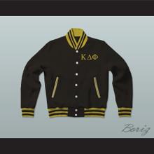 Kappa Delta Phi Sorority Varsity Letterman Jacket-Style Sweatshirt