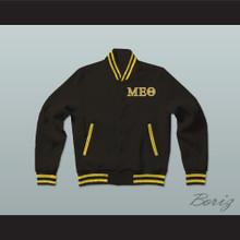 Mu Epsilon Theta Sorority Varsity Letterman Jacket-Style Sweatshirt