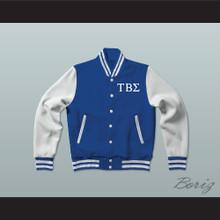 Tau Beta Sigma Sorority Varsity Letterman Jacket-Style Sweatshirt