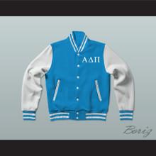 Alpha Delta Pi Sorority Varsity Letterman Jacket-Style Sweatshirt
