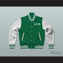 Alpha Epsilon Phi Sorority Varsity Letterman Jacket-Style Sweatshirt