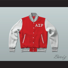 Alpha Sigma Rho Sorority Varsity Letterman Jacket-Style Sweatshirt