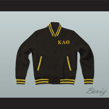 Kappa Alpha Theta Sorority Varsity Letterman Jacket-Style Sweatshirt