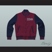 Pi Beta Phi Sorority Varsity Letterman Jacket-Style Sweatshirt