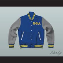 Theta Phi Alpha Sorority Varsity Letterman Jacket-Style Sweatshirt