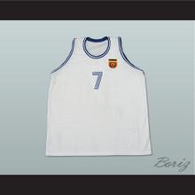 Toni Kukoc 7 Yugoslavia Basketball Jersey