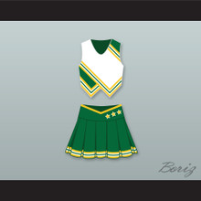 Paris Morgan Jackrabbits High School Cheerleader Uniform Love Don't Cost a Thing