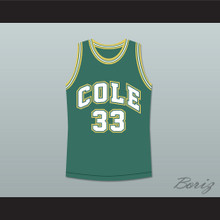 Shaquille O'Neal 33 Robert G. Cole High School Basketball Jersey Stitch Sewn