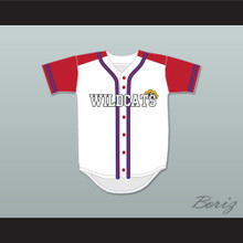 Troy Bolton 14 East High School Wildcats Baseball Jersey Design 2