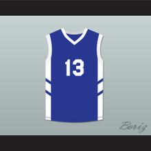 Doug Christie 13 Blue Basketball Jersey Dennis Rodman's Big Bang in PyongYang