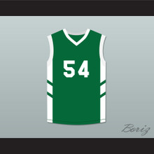 Antoine '8th Wonder' Scott 54 Green Basketball Jersey Dennis Rodman's Big Bang in PyongYang