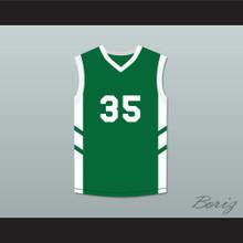 Jerry 'Assassin' Dupree 35 Green Basketball Jersey Dennis Rodman's Big Bang in PyongYang