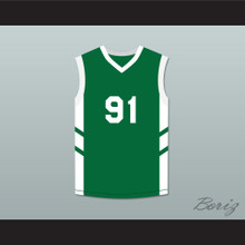 Dennis Rodman 91 Green Basketball Jersey Dennis Rodman's Big Bang in PyongYang
