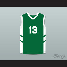 Doug Christie 13 Green Basketball Jersey Dennis Rodman's Big Bang in PyongYang