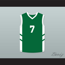 Kenny Anderson 7 Green Basketball Jersey Dennis Rodman's Big Bang in PyongYang