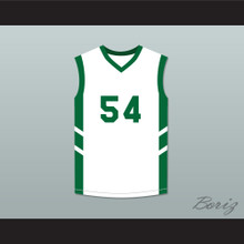 Antoine '8th Wonder' Scott 54 White Basketball Jersey Dennis Rodman's Big Bang in PyongYang