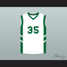 Jerry 'Assassin' Dupree 35 White Basketball Jersey Dennis Rodman's Big Bang in PyongYang