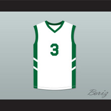 Cliff Robinson 3 White Basketball Jersey Dennis Rodman's Big Bang in PyongYang