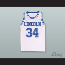 Jesus Shuttlesworth 34 Lincoln High School Basketball Jersey He Got Game