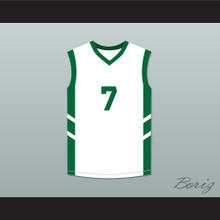 Kenny Anderson 7 White Basketball Jersey Dennis Rodman's Big Bang in PyongYang