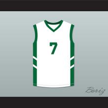 Kenny Anderson 7 White Basketball Jersey Dennis Rodman's Big Bang in PyongYang