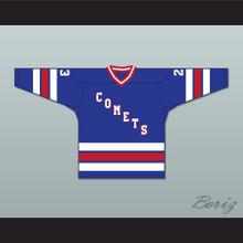 Archie Burton 23 Utica Comets Hockey Jersey