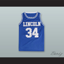 Jesus Shuttlesworth Blue Lincoln High School Basketball Jersey He Got Game