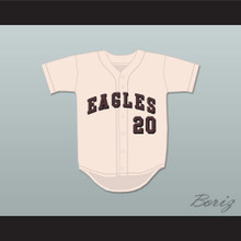Enoch 20 Eagles Baseball Jersey War Eagle, Arkansas