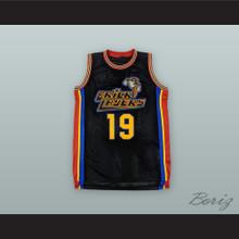 Aaliyah 19 Bricklayers Black Basketball Jersey