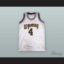 David Murray 4 Wyoming Cowboys Basketball Jersey