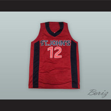 Erick Barkley 12 St. John's Red Storm Basketball Jersey