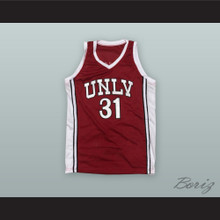Richie Adams 31 UNLV Runnin Rebels Basketball Jersey
