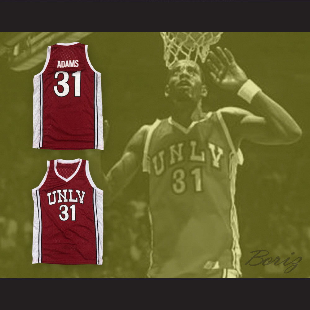 online retailer 9931d cfdee Richie Adams 31 UNLV Runnin Rebels Basketball Jersey