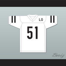 LG Joanne 51 White Football Jersey Gaga: Five Foot Two