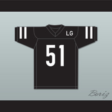 LG Joanne 51 Black Football Jersey Gaga: Five Foot Two