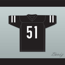 Dancer Joanne 51 Black Football Jersey Gaga: Five Foot Two