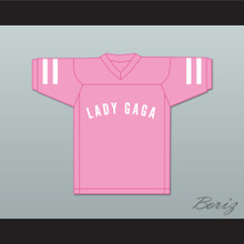 Lady Gaga Joanne 51 Pink Football Jersey Gaga: Five Foot Two