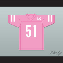 LG Joanne 51 Pink Football Jersey Gaga: Five Foot Two