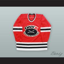 Onyx Bacdafucup Sticky Fingaz 00 Red Hockey Jersey
