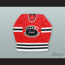 Onyx Bacdafucup Sonny Seeza 'Sonsee' 13 Red Hockey Jersey