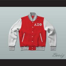 Alpha Sigma Phi Fraternity Varsity Letterman Jacket-Style Sweatshirt