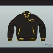 Phi Kappa Sigma Fraternity Varsity Letterman Jacket-Style Sweatshirt