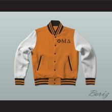 Phi Mu Delta Fraternity Varsity Letterman Jacket-Style Sweatshirt