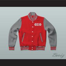Phi Sigma Phi Fraternity Varsity Letterman Jacket-Style Sweatshirt